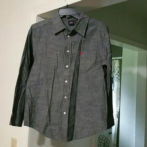 NWOT Boys Wrangler button down shirt